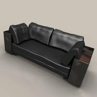 3dsmax ilene grey couch