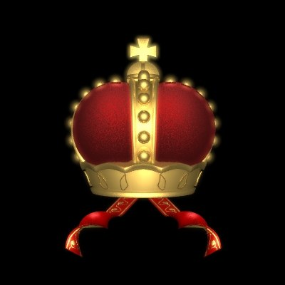 crown velvet 3d lwo