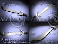 3ds max sword