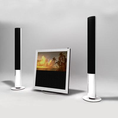 television bang 3d model