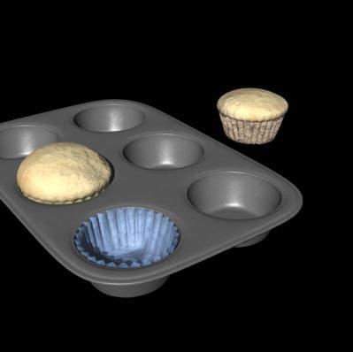 lightwave muffin cupcake