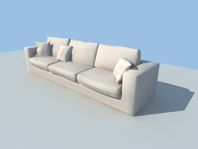 3ds max couches sofa