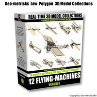 3d model flying machines
