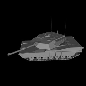 usa m1a1 tank 3d model