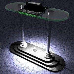 desk lighting 3d br4