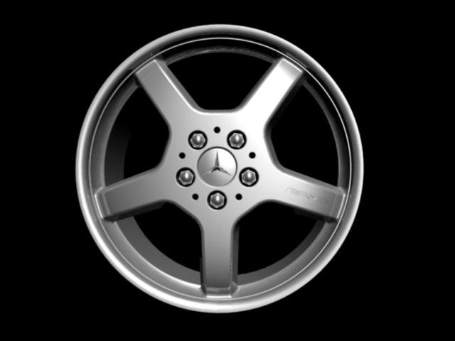 3d model amg tire
