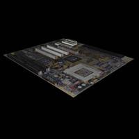 free motherboard 3d model