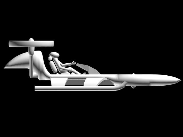 futuristic space 3d max