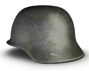 german ww2 helmet 3d model