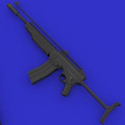 lwo cyberpunk assault rifle