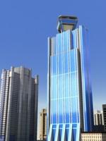 city bloc 3d model