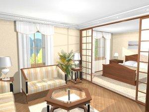 lux room 3d model