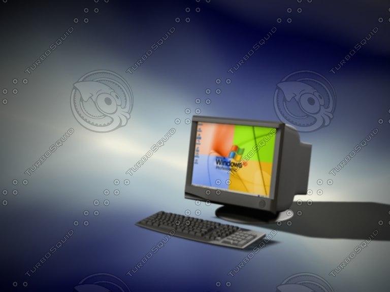 screen keys 3d model
