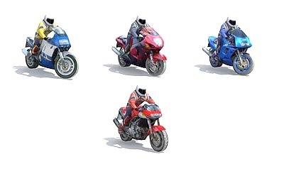 motor bikes 3d model