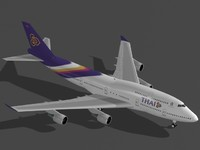 Boeing 747-400 Thai Airways