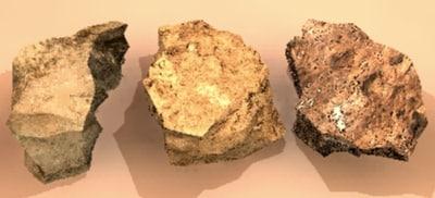 stones 3d model