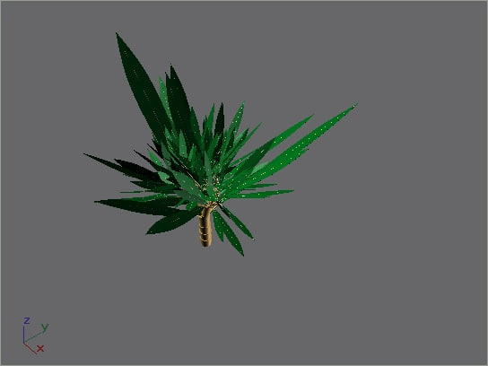 little tree shrub 3d max