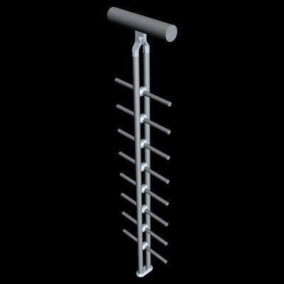 maya railing handrail