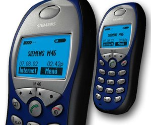 free siemens m46 mobile phone 3d model
