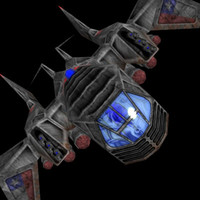 free 3ds mode ship fighter space