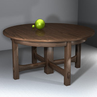 table dining 3d ma