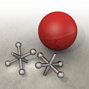 3d 3ds jacks ball