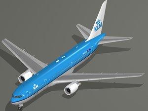 max b 767-300 er klm