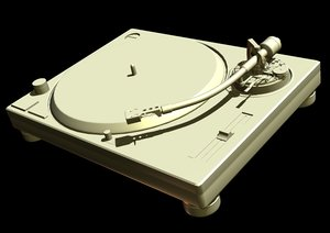 3ds turn table turntable