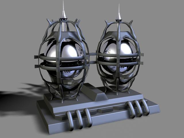 3d pump-sssss model