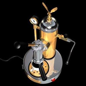 elektra expresso coffee 3d model