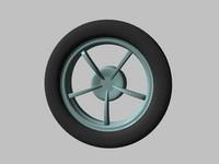 free mag wheel 3d model