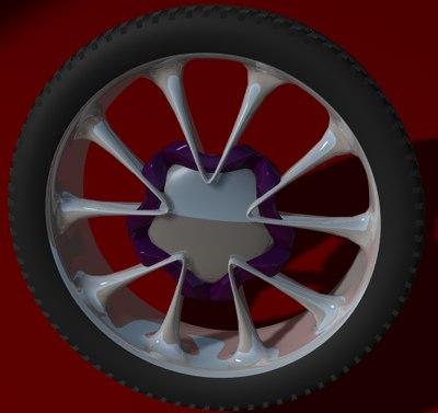 mag wheel 3d model