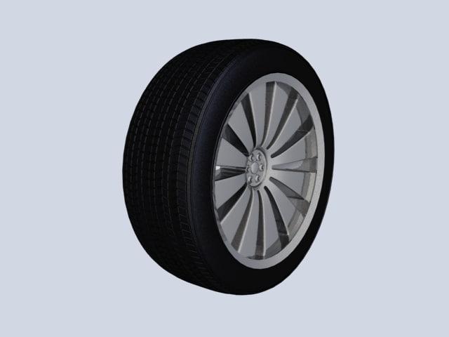 s wheel 3d max