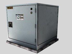 electrical transformer 3d model
