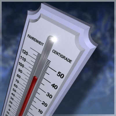 3dsmax thermometer mercury