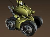 free lwo model metal slug