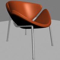 modernica case study easy chair 3d model
