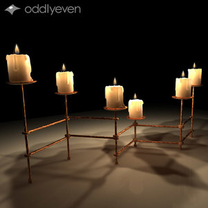 3d candles