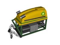 3d rov underwater model