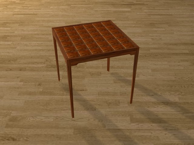 3d model coffie table