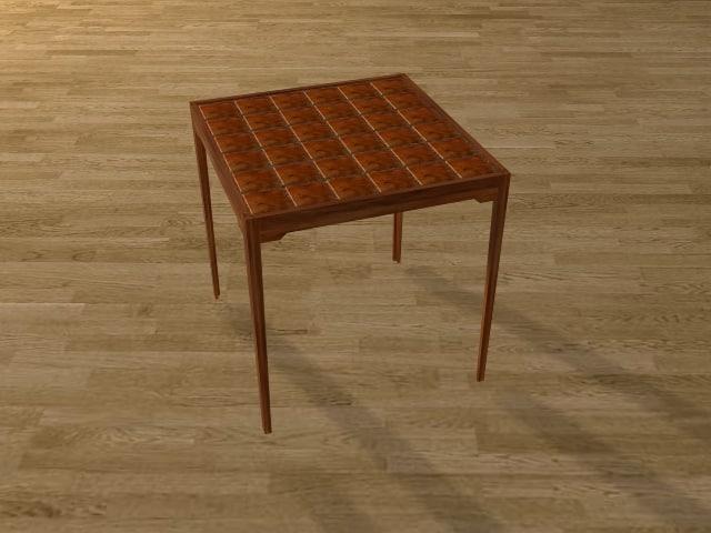 3d coffie table model