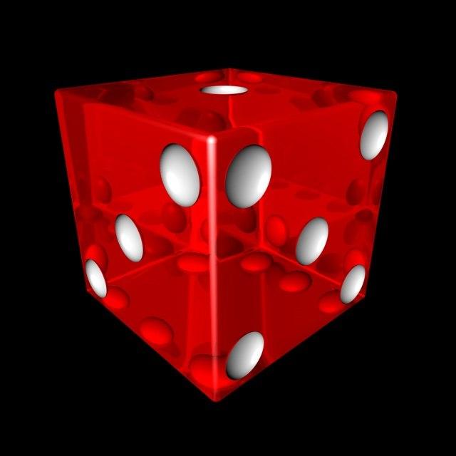 dice 3d c4d