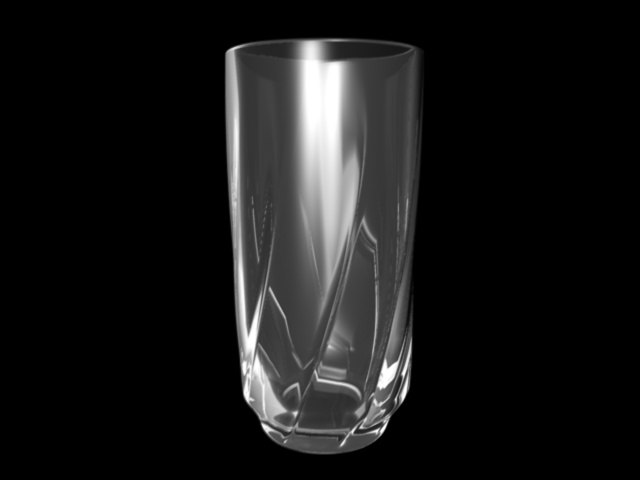 c4d drink glass