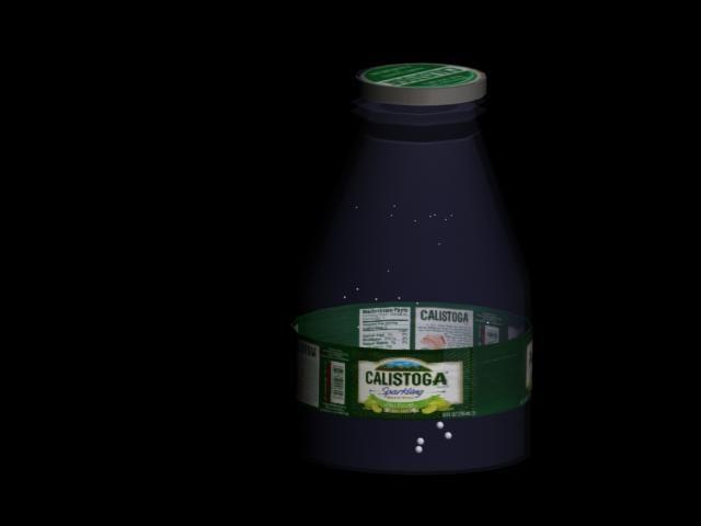 calistoga bottle water max