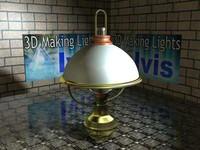 3d model -table lamp
