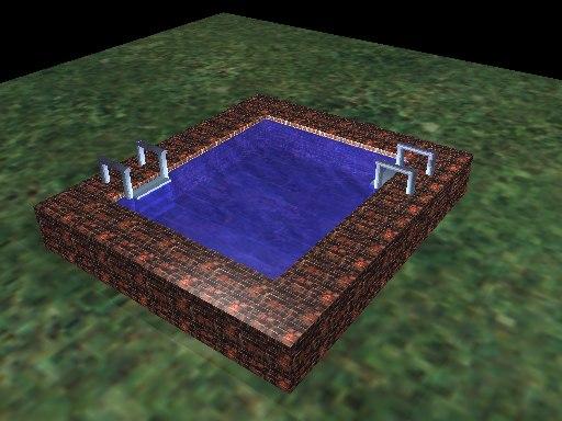 free pool 3d model