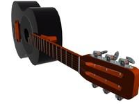 AcousticGuitarBlack01.max