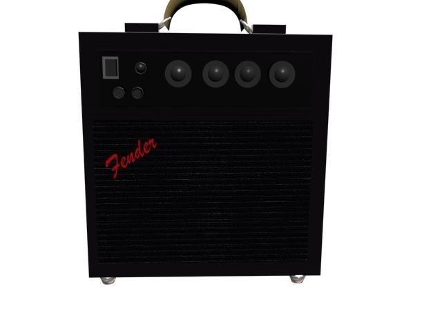 amplificator electric 3d max