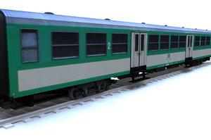 train coach 3ds