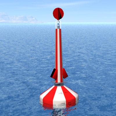 3d model buoy boia limpas